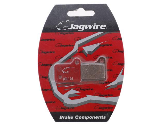 Jagwire SHIMANO Disc Brake Pads red/white